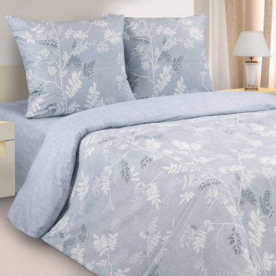 Постельное белье Ecotex Poetica Натурель (размер 1,5-спальный)