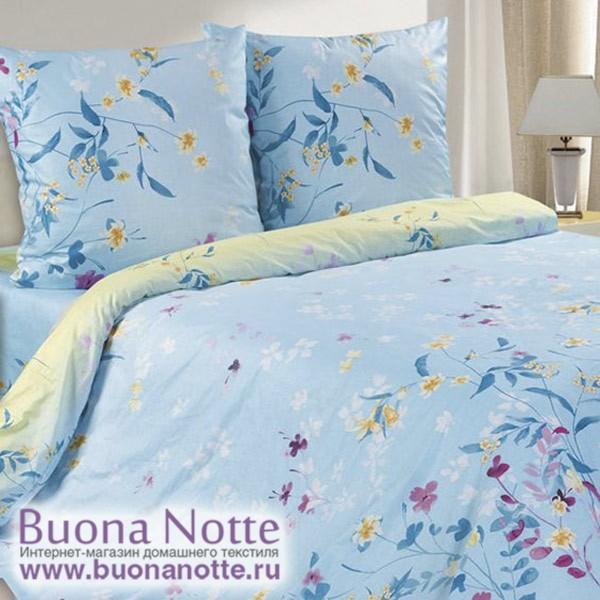 Постельное белье Ecotex Poetica Новелла (размер 1,5-спальный)
