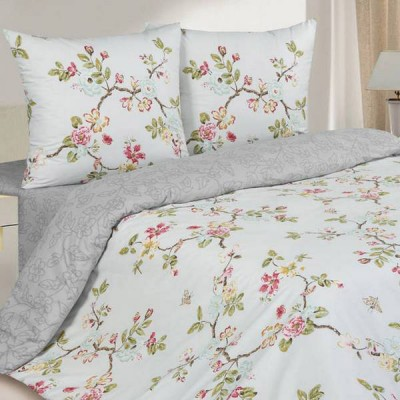 Постельное белье Ecotex Poetica Орфео на резинке (размер 2-спальный)