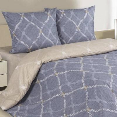 Постельное белье Ecotex Poetica Портленд на резинке (размер 2-спальный)