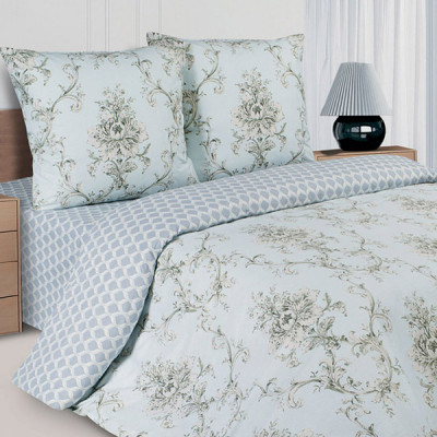 Постельное белье Ecotex Poetica Пуатье на резинке (размер 2-спальный)
