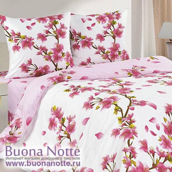 Постельное белье Ecotex Poetica Сакурами (размер 2-спальный)