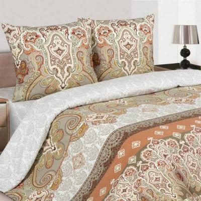 Постельное белье Ecotex Poetica Шоколад (размер 1,5-спальный)