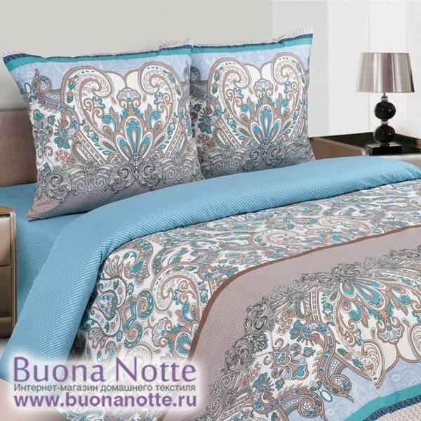 Постельное белье Ecotex Poetica Тиволи на резинке (размер 2-спальный)