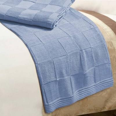 Плед Conforto e Sonhos Magno 2 Azul (размер 150х200 см)