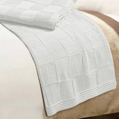Плед Conforto e Sonhos Magno 2 Blanco (размер 150х200 см)