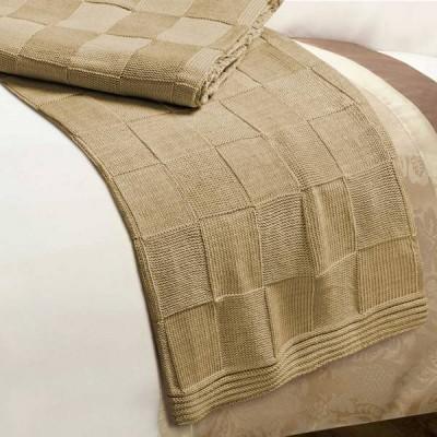 Плед Conforto e Sonhos Magno 2 Camel (размер 150х200 см)