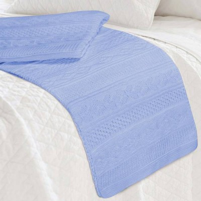 Плед Conforto e Sonhos Magno 50 Azul (размер 150х200 см)