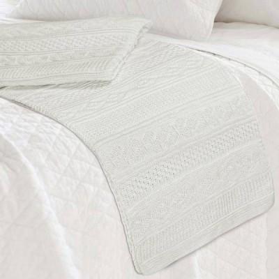 Плед Conforto e Sonhos Magno 50 Blanco (размер 150х200 см)