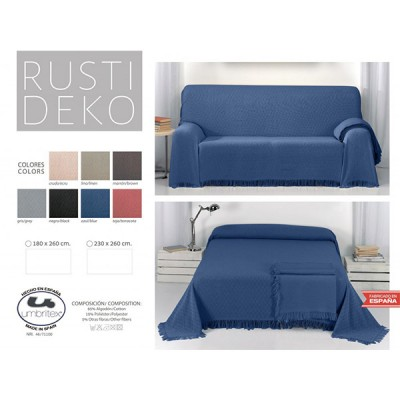 Покрывало-плед Umbritex Rustica1 Blue (180х260 см)