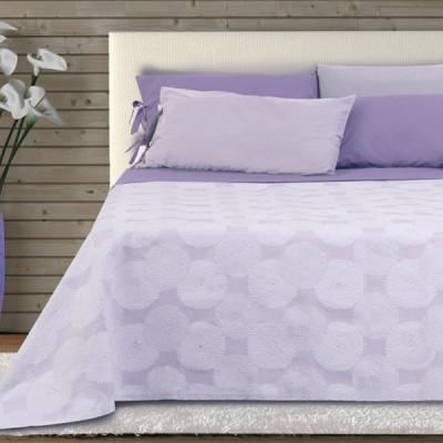Покрывало Lumatex Fust042 lilac/white (220х260 см)