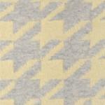 Плед Luxberry Goose Foot желтый/серый (размер 130х170 см)