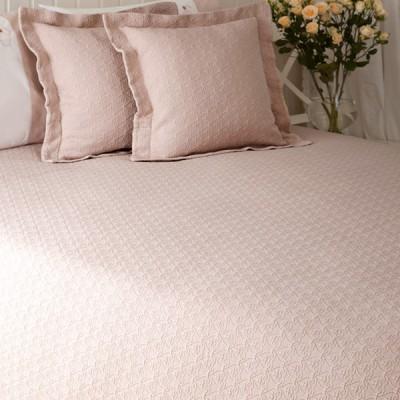 Покрывало Luxberry English Style розовая пудра (150х220 см)
