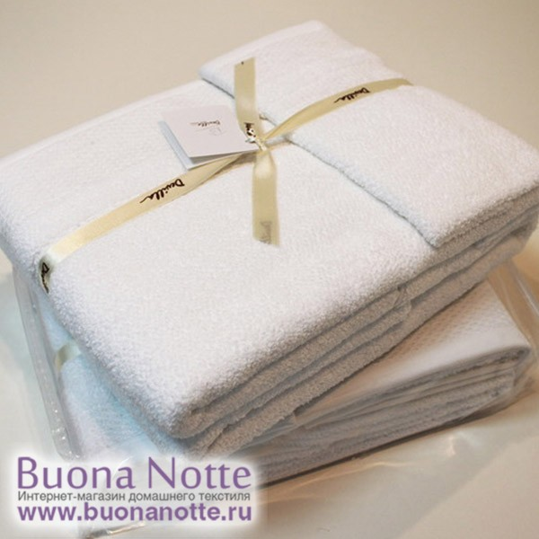 Полотенце Devilla Imperio Bath&Co белый (размер 30х50 см)