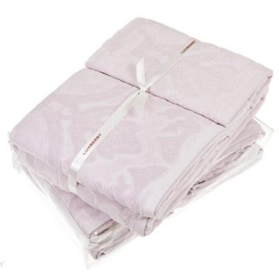 Полотенце Luxberry Барокко розовая пудра (100х150 см)