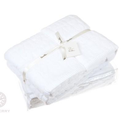 Полотенце Devilla Imperio белый (70х140 см)