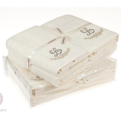 Полотенце Luxberry Lovely экрю (100х150 см)