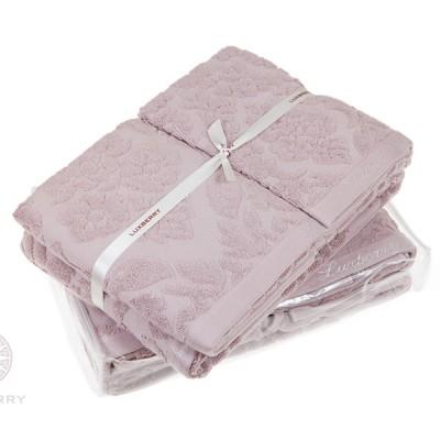 Полотенце Luxberry New England розовая глина ( 50х100 см)