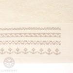 Полотенце Devilla Орнамент экрю (30х50 см)