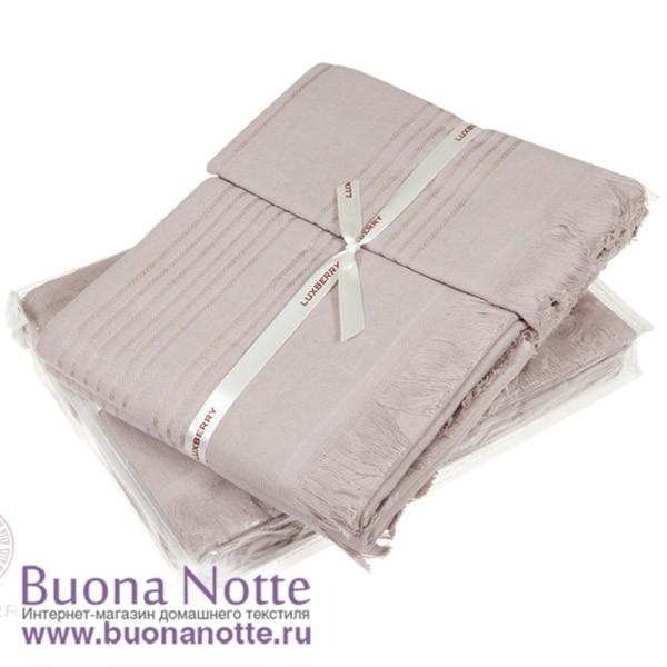 Комплект из 3-х полотенец Luxberry Simple мокко (30х50, 50х100, 70х140 см)