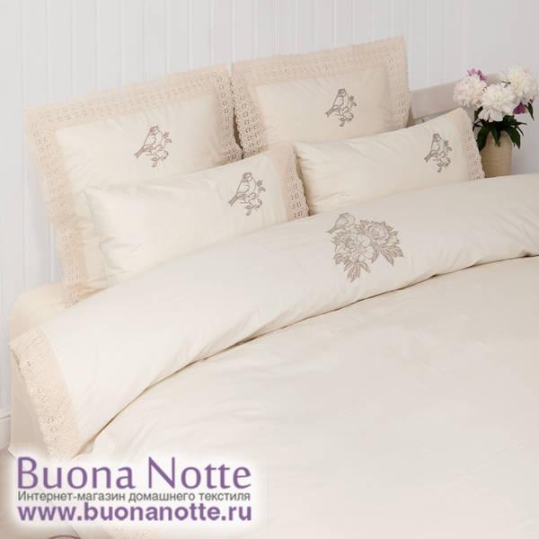 Комплект постельного белья Luxberry English Garden шампань (размер евро)