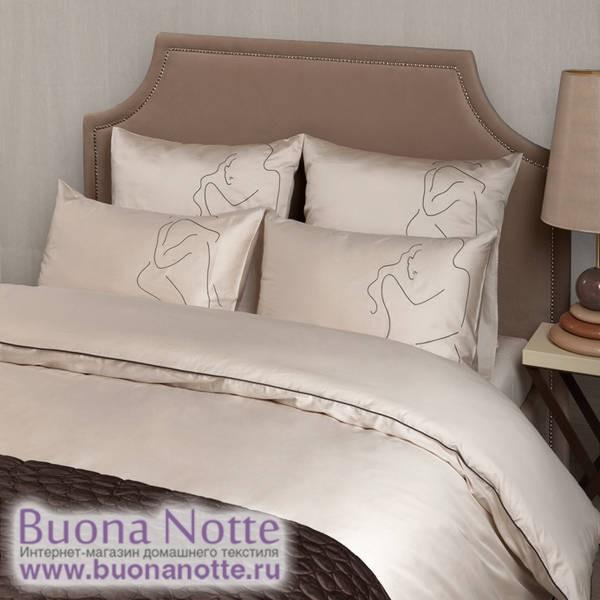 Комплект постельного белья Luxberry Etude песочный (размер 1,5-спальный)