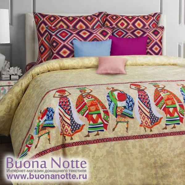 Постельное белье Mona Liza Classic бязь Afrika (размер 1,5-спальный, наволочки 50х70 см)