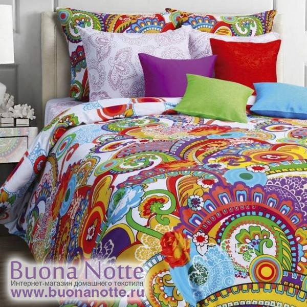 Постельное белье Mona Liza Classic бязь Samui (размер 1,5-спальный, наволочки 50х70 см)