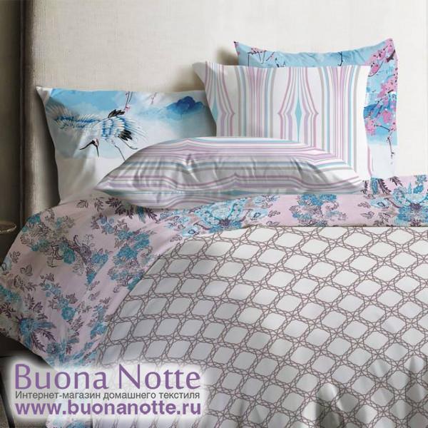 Постельное белье Mona Liza Japanese ранфорс Lace (размер 2-спальный, наволочки 50х70 см)