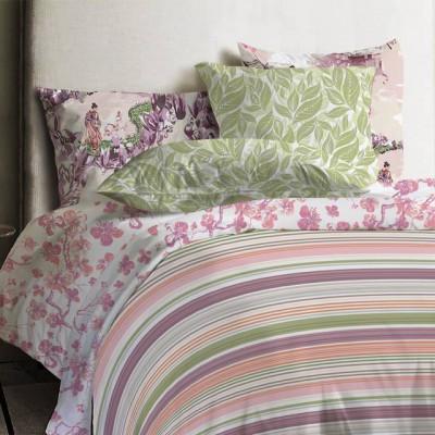 Постельное белье Mona Liza Japanese Stripe (размер 1,5-спальный, нав.50х70 см)