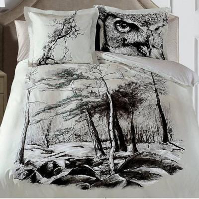 Постельное белье Mona Liza Sketch Art Nature (размер Евро)