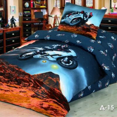 Комплект постельного белья Stile Tex D-15 (размер 1,5-спальный)