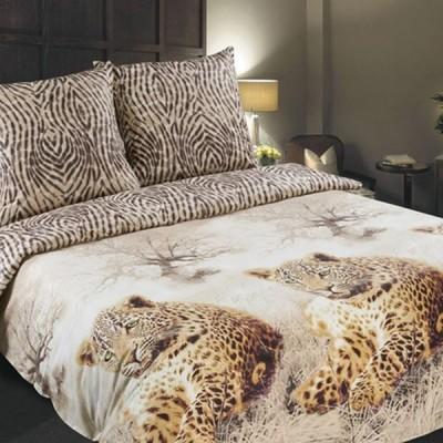 Постельное белье Stile Tex Леопарды (размер 1,5-спальный)