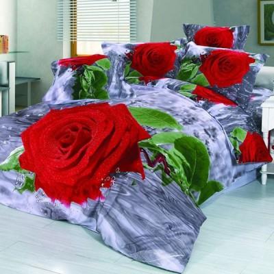Постельное белье Stile Tex 3D Дыхание розы (размер 2-спальный)